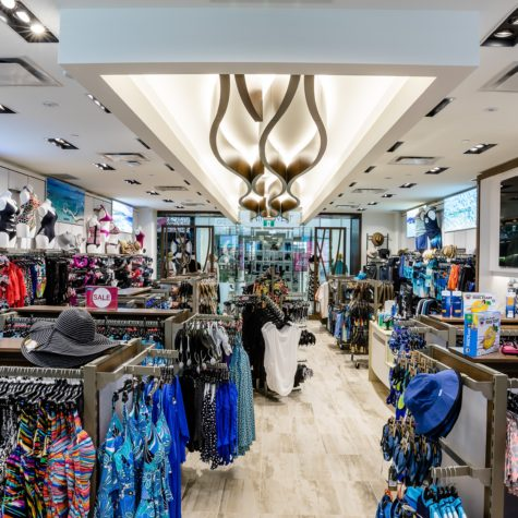 Swimco Square One Store Interior. Mississauga, Canada. December 14, 2016 (photo: Vito Amati/Ryan Emberley Photography)